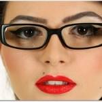 メガネのアイメイク